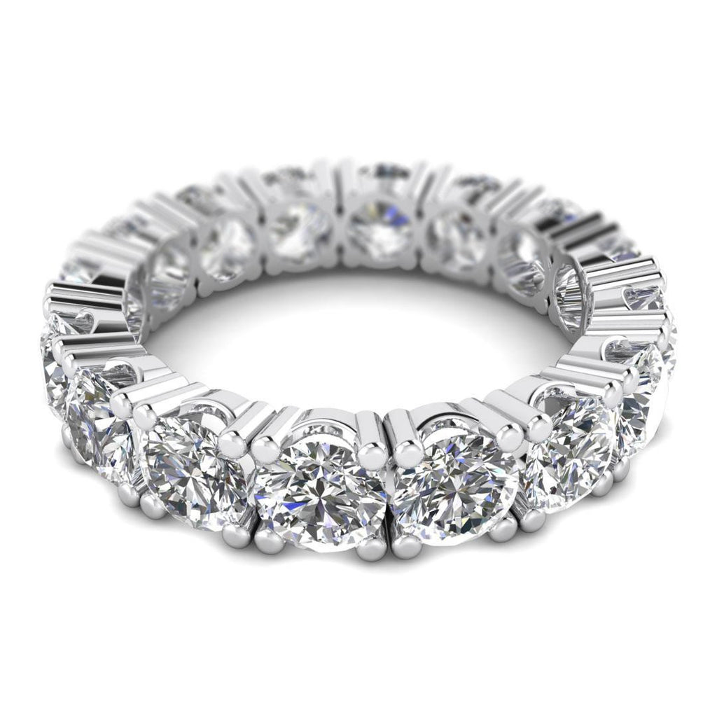 certified carat halo r eternity nscd round engagement band i diamond size new proposal bands