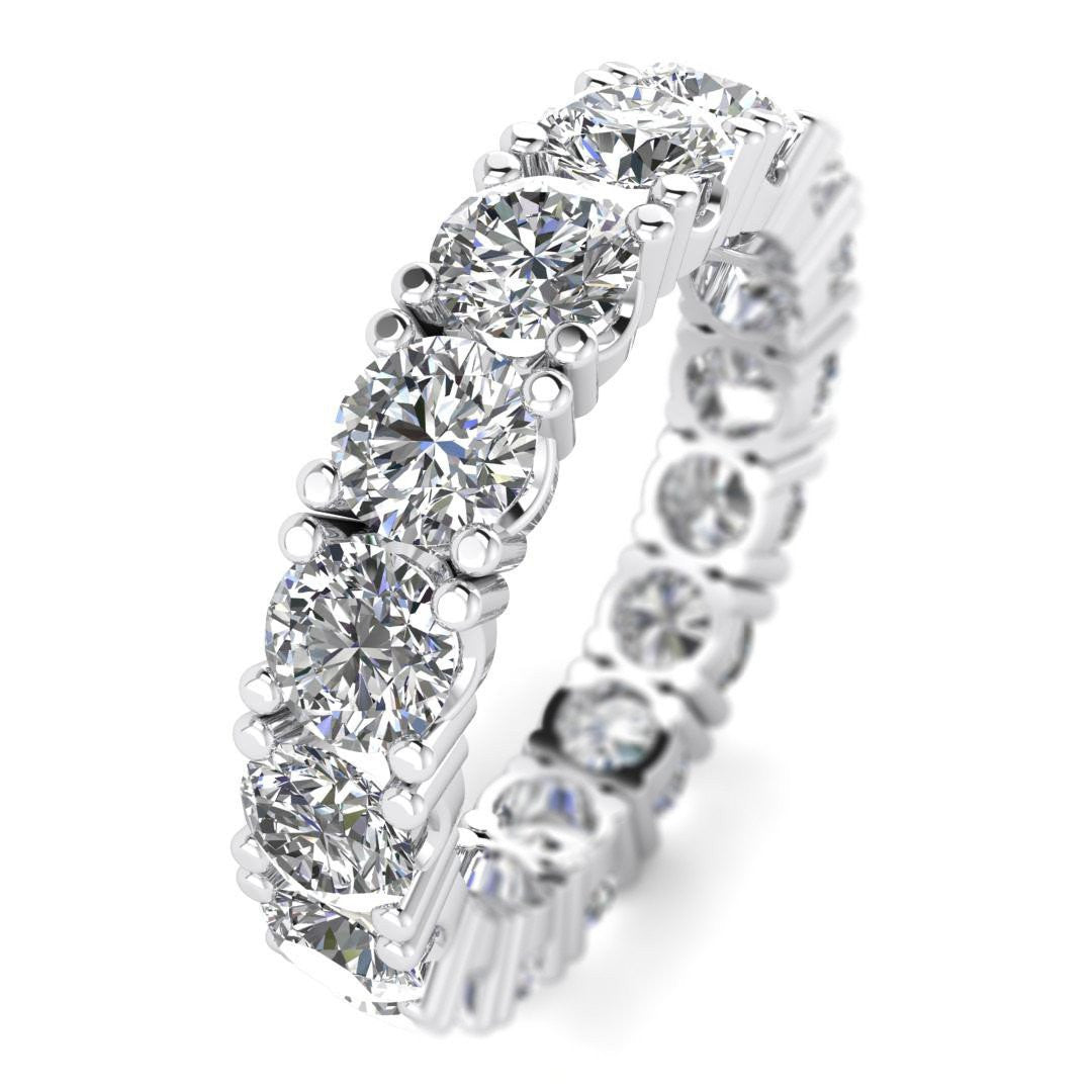 hana engagement ct rings round diamond unique micropave ken products band double april dana design f