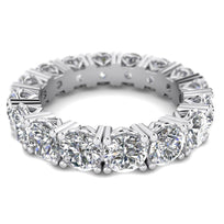 Daily Deal 4 carat D-SI1 100% Natural Full Eternity Ring