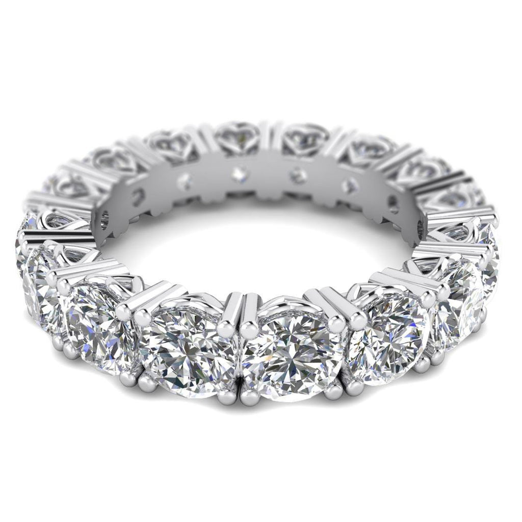 ring cut diamond band bands platinum anniversary eternity round p carat main