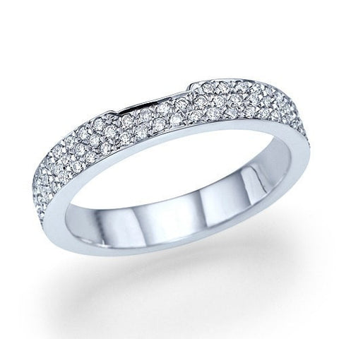 Wedding Rings Platinum 1.15ct Diamond Full-Eternity Wedding Ring