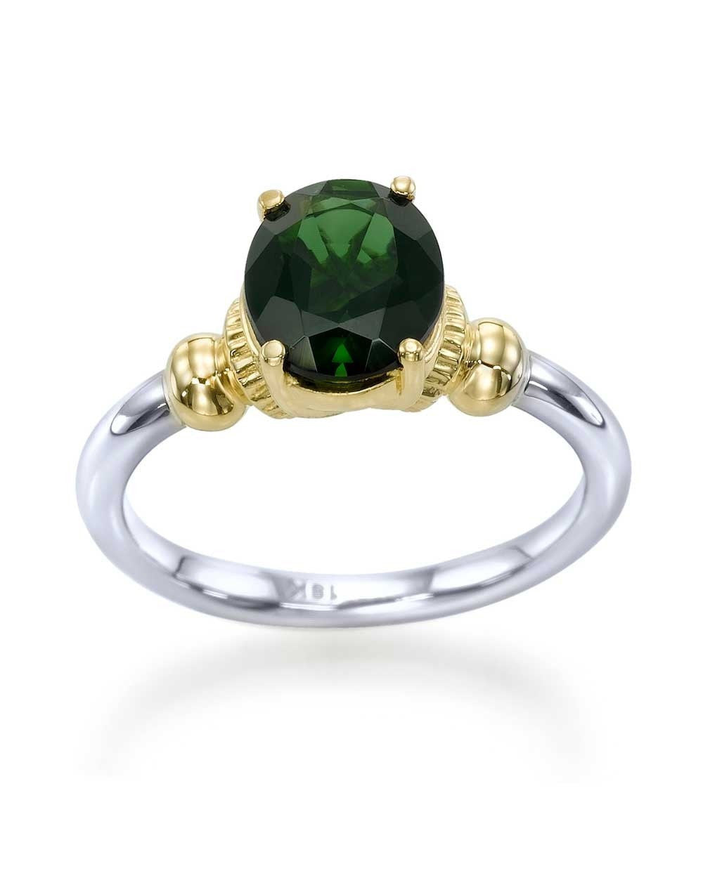 image from tourmaline gold gemstone green ring jewellery oval yellow rings engagement