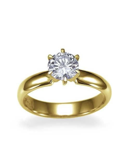 gold band wedding diamond unique bands ring princess estate yellow itm baguette wide