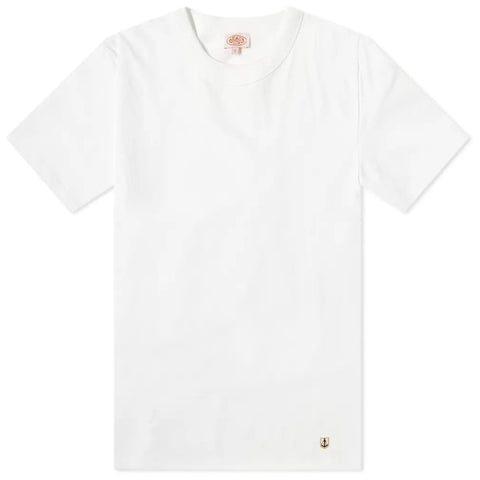 ID10074-Armor Lux White Crew T-Shirt