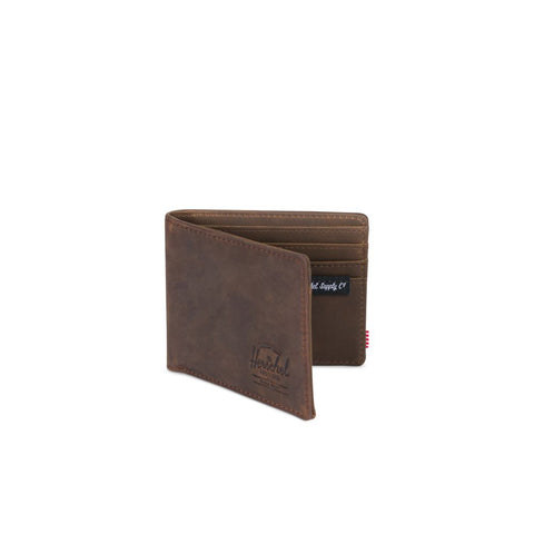Herschel Hank Brown Nubuck Wallet