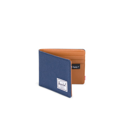 Herschel Hank Wallet Navy Tan