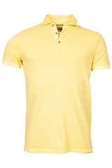 ID10211-Thomas Maine Washed Yellow Polo