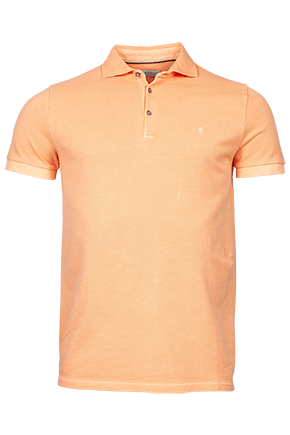 ID10209-Thomas Maine Washed Orange Polo