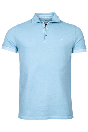 ID10208-Thomas Maine Washed Sky Polo