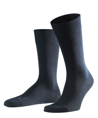 Falke Sensitive Berlin Plain Navy Sock 8565