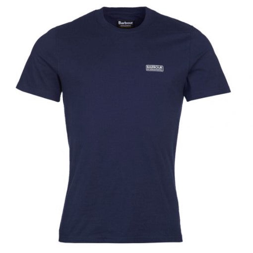 ID20065-Barbour International Navy T-Shirt
