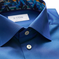 Eton Blue Contemporary Fit Shirt 5393