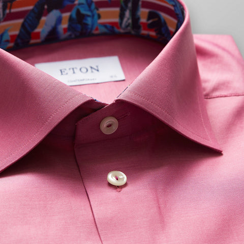 Eton Magenta Contemporary Fit Shirt