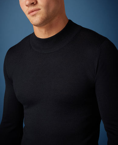 ID20260-Remus Navy Turtle Neck