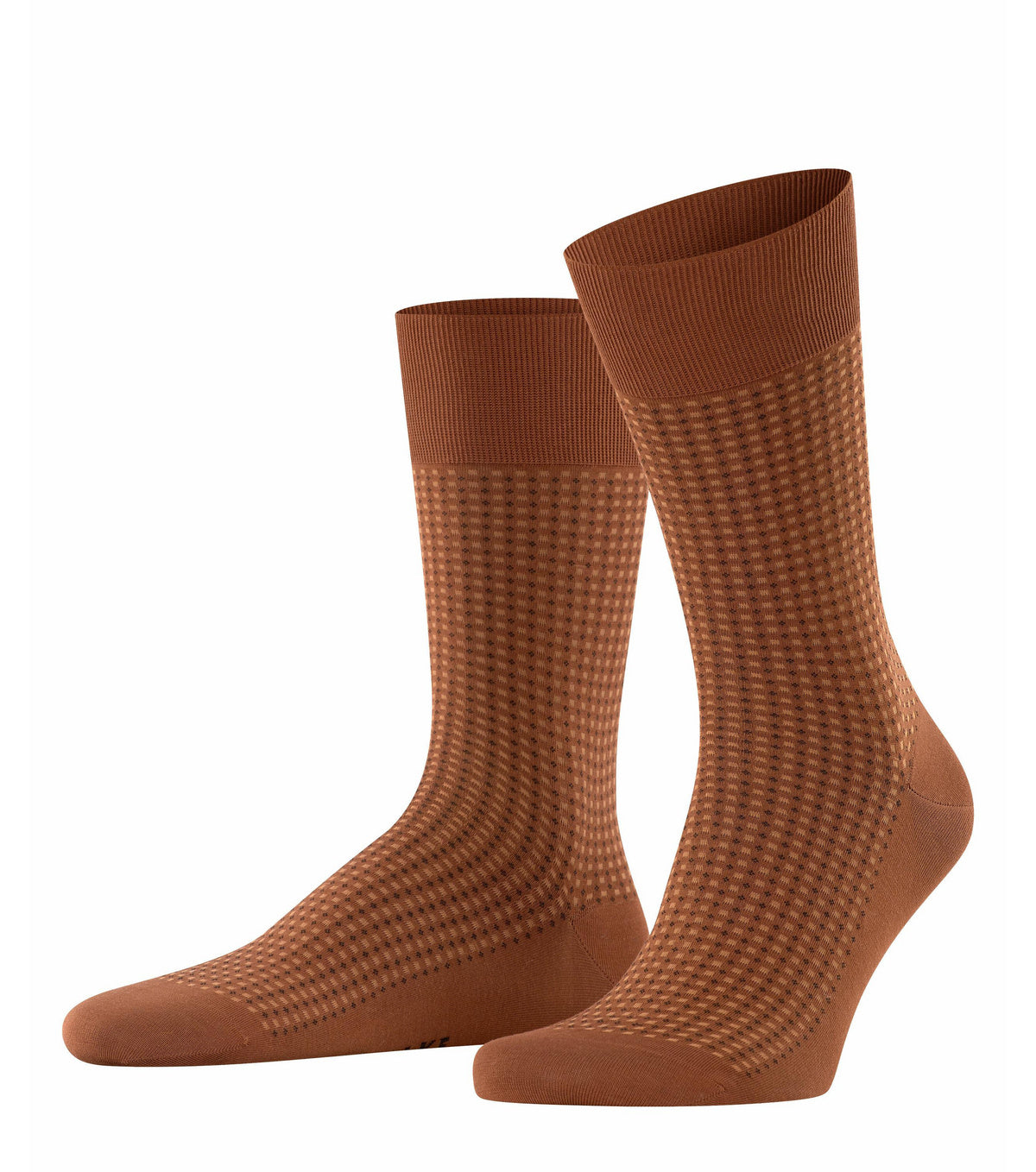 ID20452 Falke Tan Pattern Sock