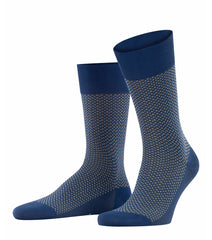 ID20453 Falke Blue Pattern Sock