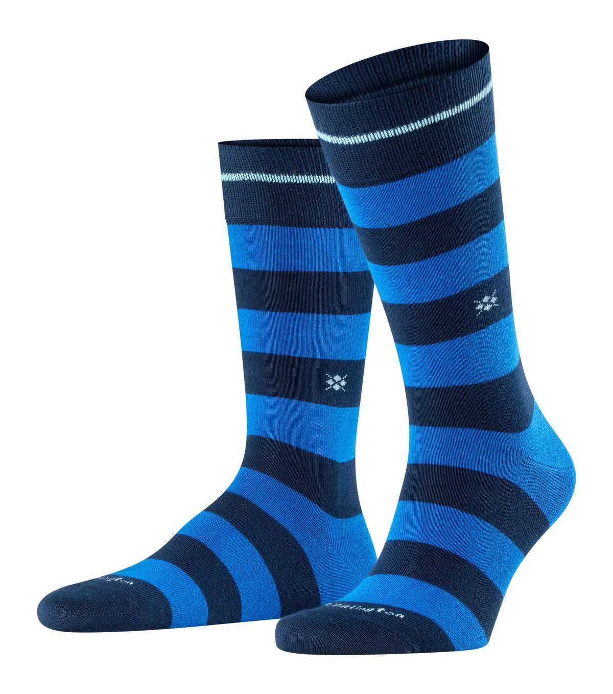 ID20435 Burlington Navy / Blue Stripe