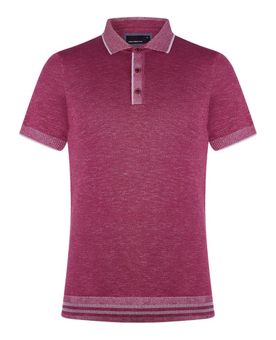 Remus Uomo Knitted Polo 7179
