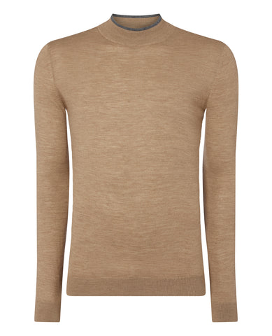 Remus Camel Turtle Neck 8228