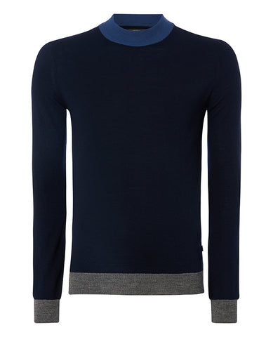 Remus Navy Turtle Neck 8229
