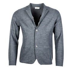 ID8282-Thomas Maine Grey Cardigan