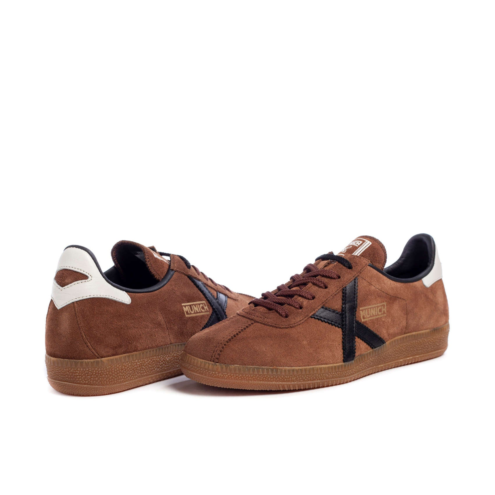 ID20174-Munich Trainer Barru-Brown Suede