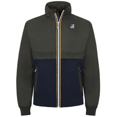 K-Way Blue / Green Richard Jacket