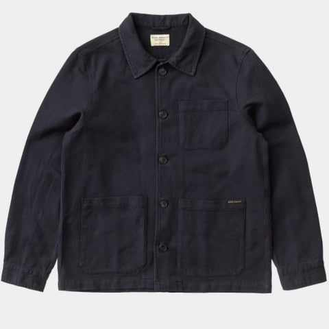 20428 Nudie Barney Worker Shirt Navy