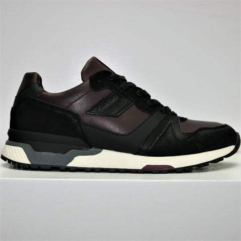 Crime London Escape Burgundy Trainer 4480 Was £155