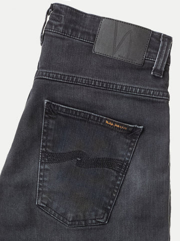 ID6633-Nudie Dude Dan Dusty Black Jean