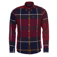 ID20043-Barbour Dunoon Red Check