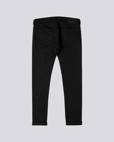ID10141-Edwin Slim Tapered Kaihara Black Stretch Jean