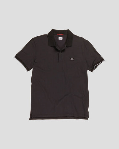 ID10026-CP Company Black Tacting Polo