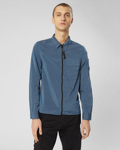 ID10045-CP Company Petrol /Grey Chrome Overshirt