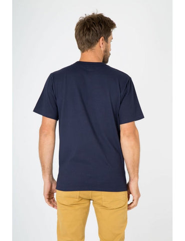 ID10075-Armor Lux Navy Crew T-Shirt
