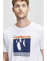 ID10085-Armor Lux Boats T-Shirt