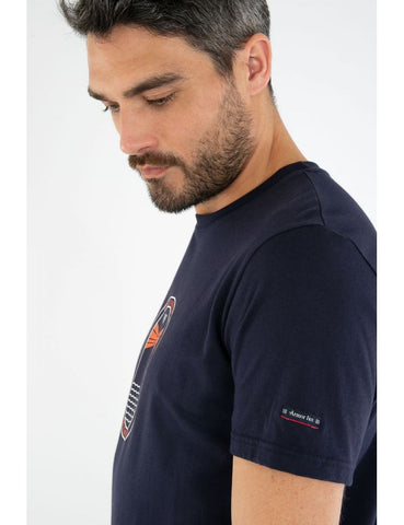 ID10086-Armor Lux Navy Beacon T-Shirt