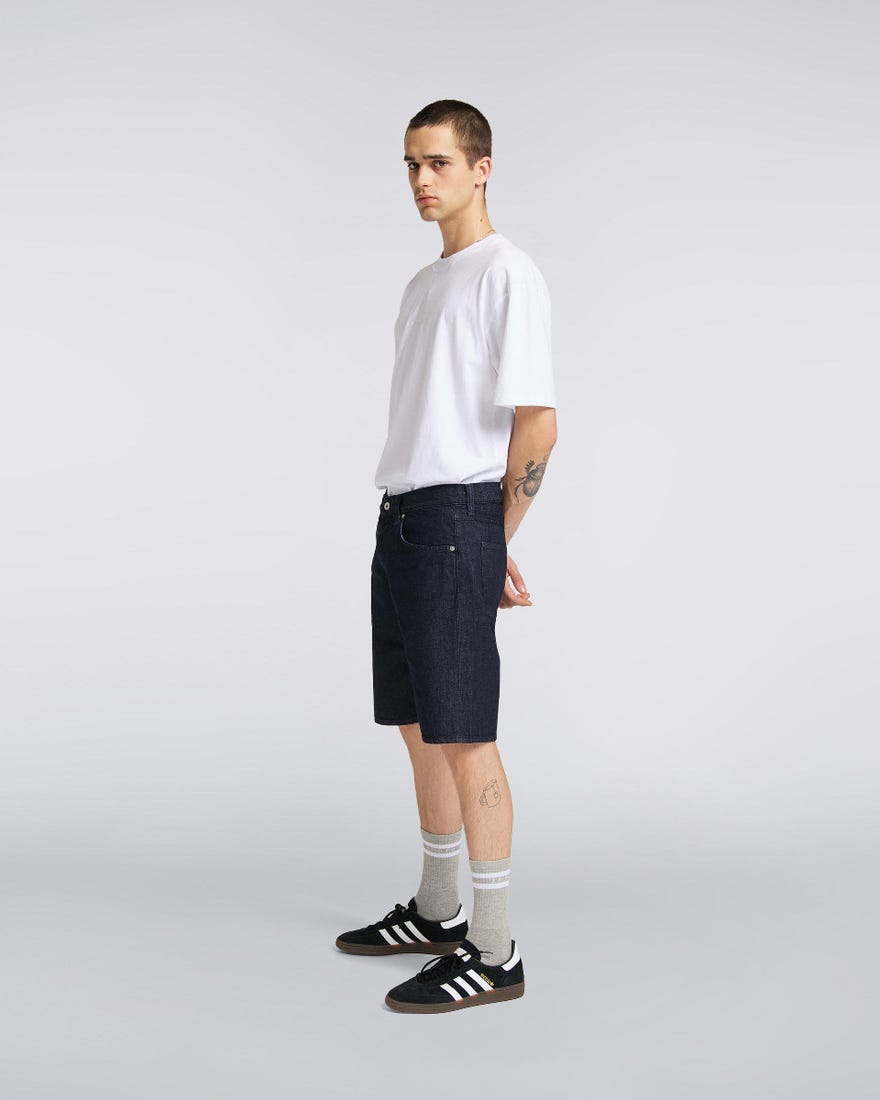 ID10147-Edwin Denim Indigo Shorts