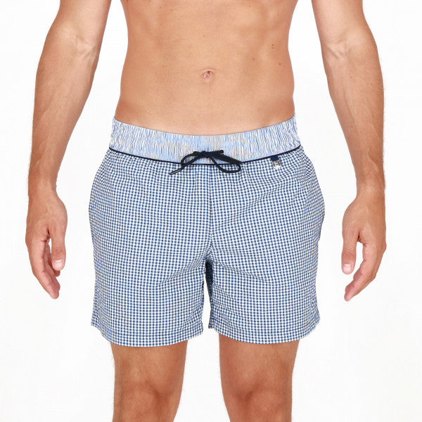 "ID10163-Hom Beach Boxer ""Preppy"" Check"
