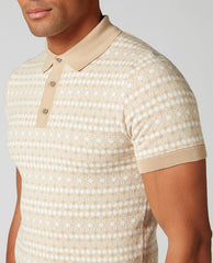 ID10298-Remus Intarsia Jersey Polo