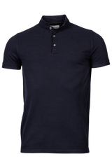 ID30007-T  Maine Navy Washed Polo
