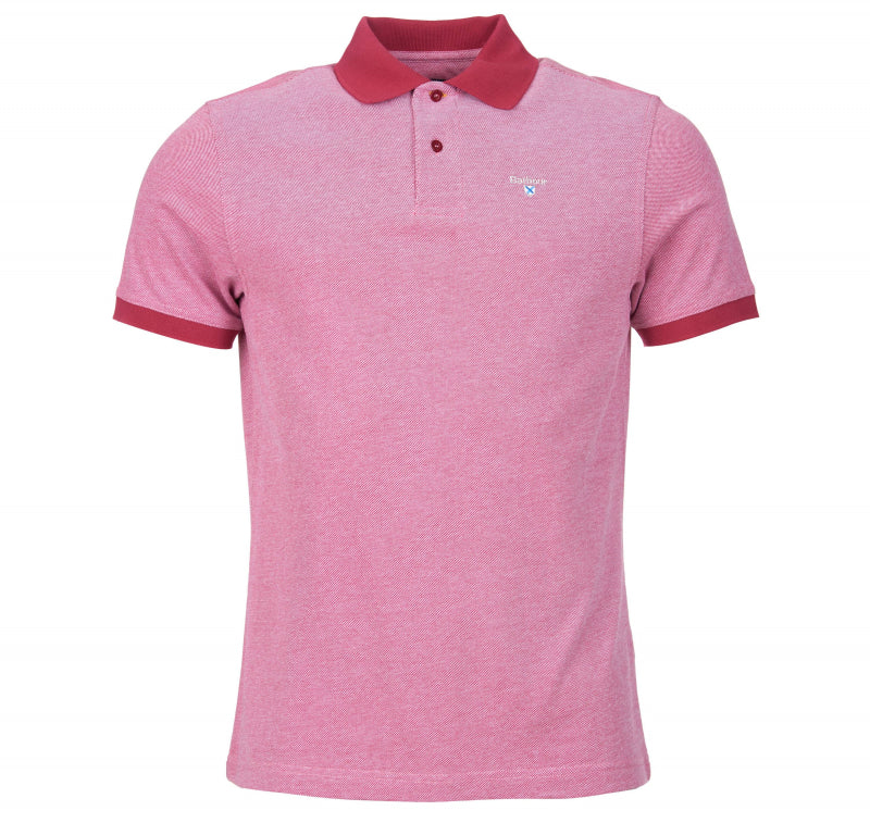 ID30120-Barbour Raspberry Polo-Mix