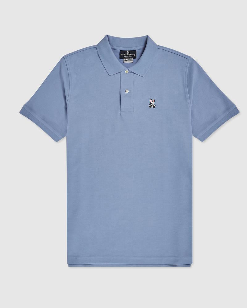 "ID30423-Psycho Bunny-""Classic Polo "" Lapis Blue"
