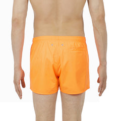 ID5506-HOM Orange Splash Swim Shorts