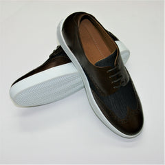 ID3421-Carlos Santos Brown Brogue Trainer