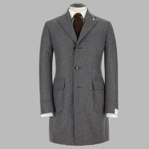 LBM Grey Padded Overcoat