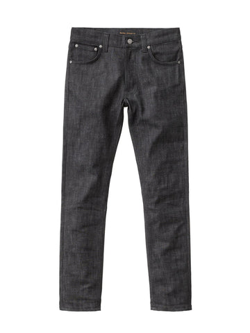 Nudie Lean Dean Deep Dark Comfort Jean