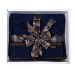 ID8123-Barbour Navy Gift Set