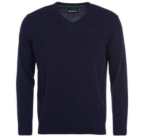 Barbour Navy Essential V Neck 8067