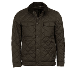 ID8108-Barbour Olive Maesbury Green Quilt